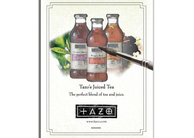 Tea Magazine Ad